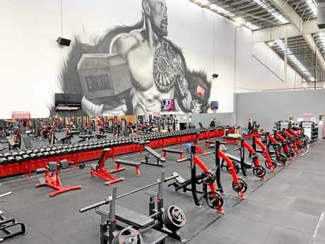 World Gym Mackay.