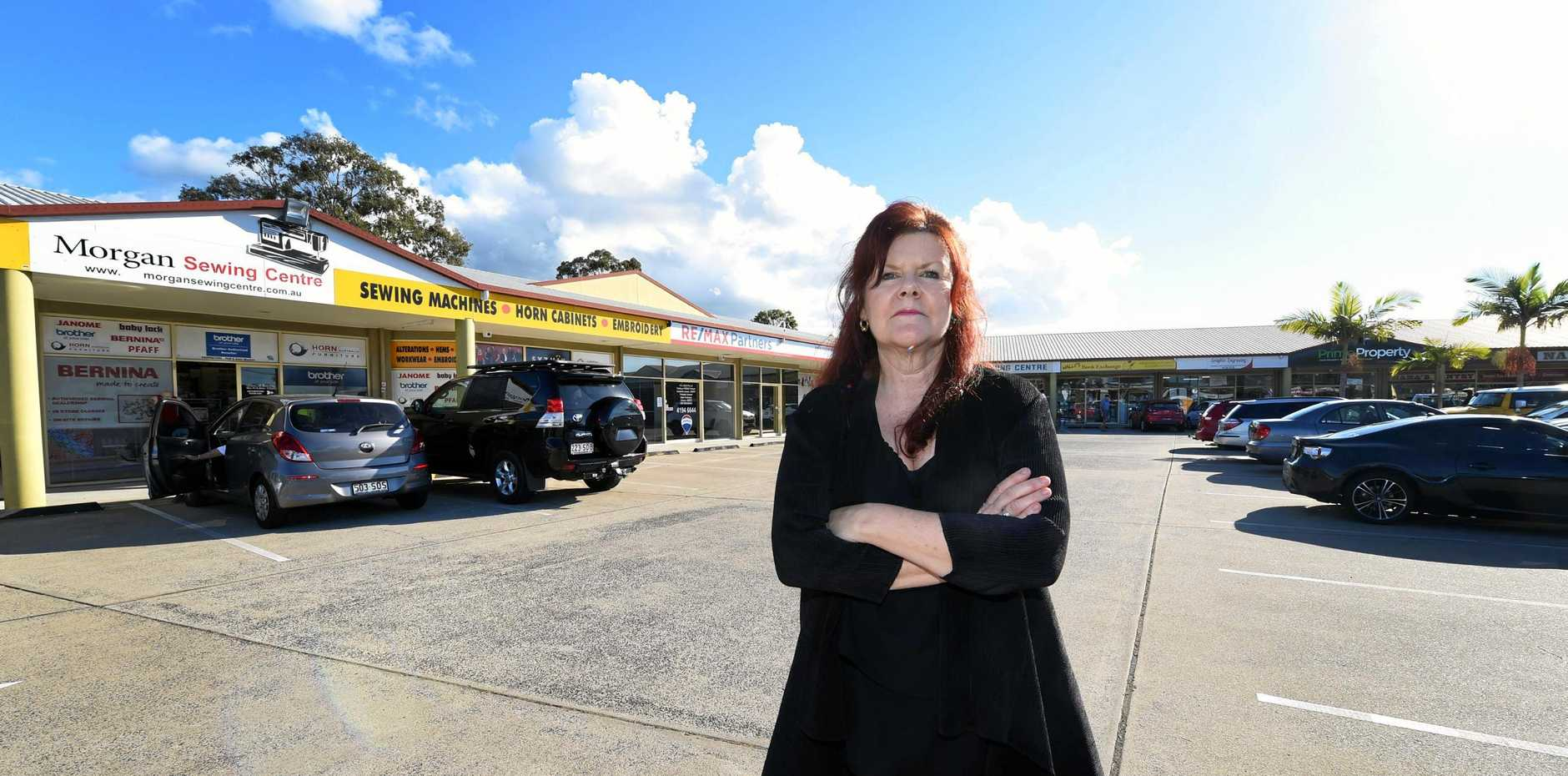 FUNDING FAIL: Hervey Bay Chamber of Commerce president Sandra Holebrook feels regional cities have been overlooked in the State Budget released on Tuesday.