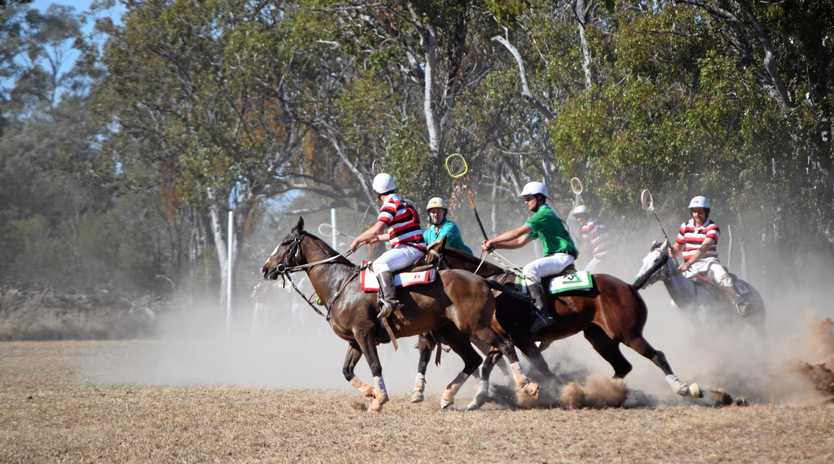 KICKING UP A STORM: Tara's annual polocrosse carnival will be held this weekend.