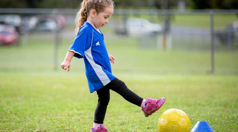 SOCCER SQUIRTS: Mini Roos program starts at Nanango Soccer Club on Saturday June 15.