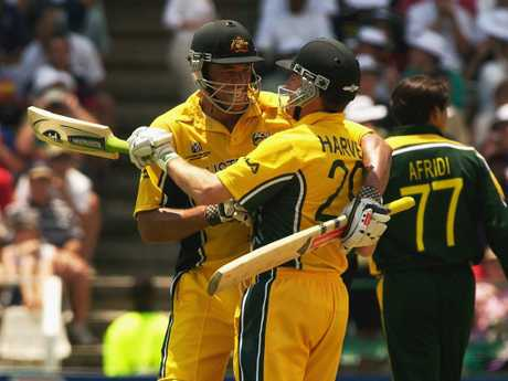Symonds produced the innings of his life, notching his first century and breaking Mark Waugh's record for the highest score by an Australian at the World Cup.