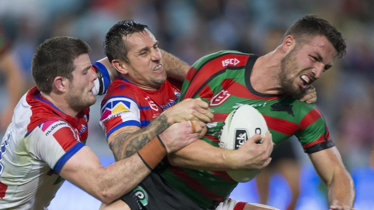 Burgess has been a serious force outwide. AAP Image/Craig Golding.