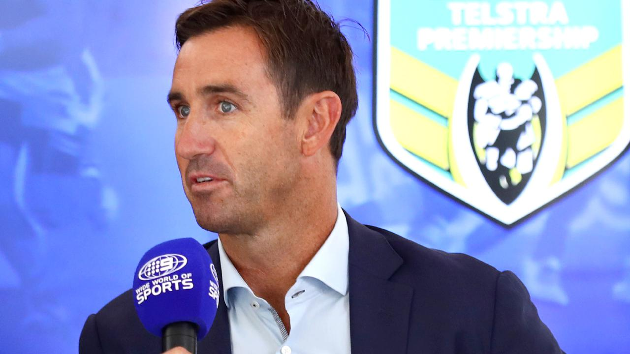 The Channel Nine's Andrew Johns.