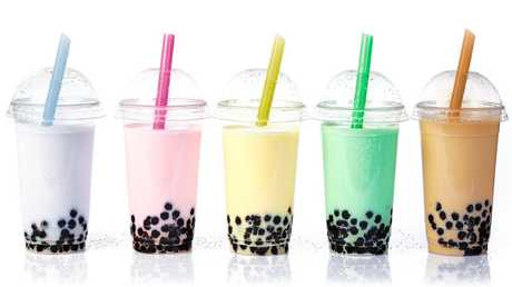 Bubble tea, originally from East Asia, comes in many different flavours.