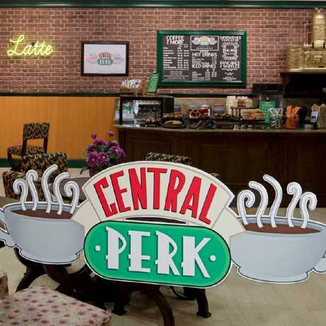 Primark's Friends themed Central Perk Cafe will launch this week. Picture: Primark