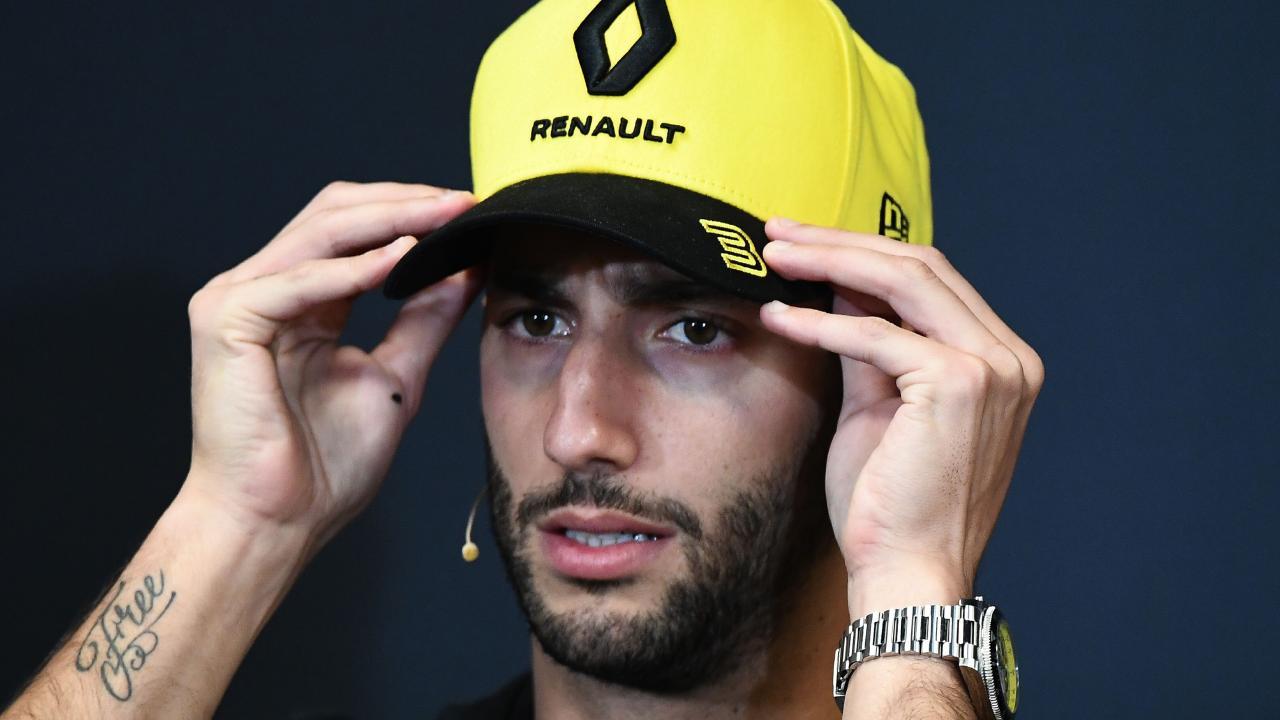 Daniel Ricciardo got away with one.