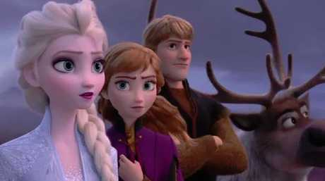 Everyone's favourites Elsa, Anna, Kristoff and Sven are back in Frozen 2. Picture: YouTube