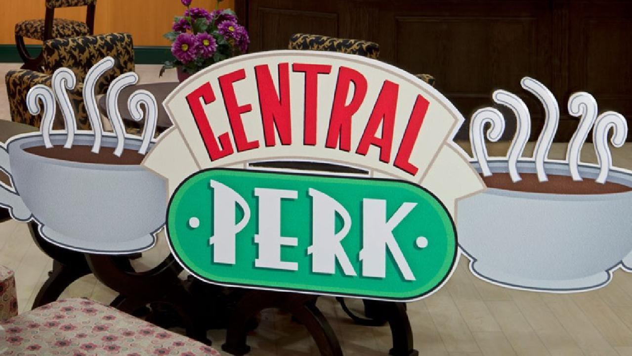 Primark is opening a Friends themed Central Perk Cafe in Manchester this week. Picture: Primark