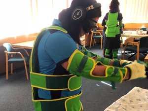 Toowoomba nurses experience dementia simulation
