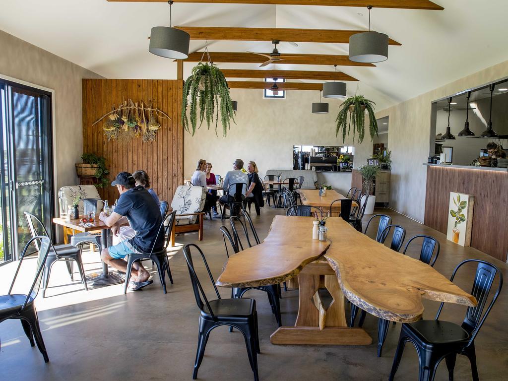 Farm and Co Cafe interior. Picture: Jerad Williams