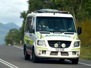 Two car crash closes New England Highway at Crows Nest
