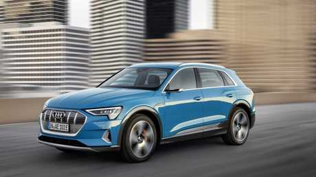 Audi has recalled its first electric car for potential fire hazard.
