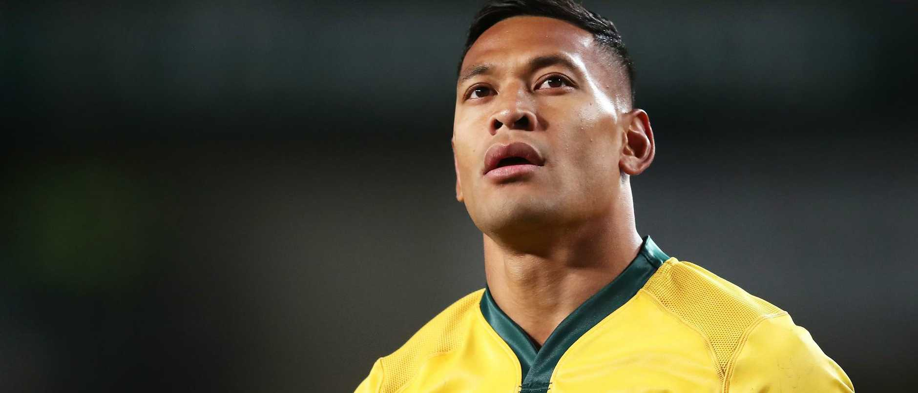 FILE: Israel Folau sacked by Rugby Australia for Homphobic tweet