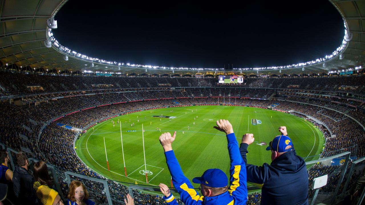 It will still be a great spectacle for supporters. Image: Daniel Carson/AFL Media/Getty Images