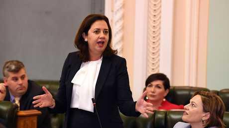 Queensland Premier Annastacia Palaszczuk. (AAP Image/Dave Hunt) NO ARCHIVING