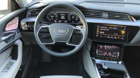 Audi's e-tron will have the option for digital side mirrors. Picture: Joshua Dowling.