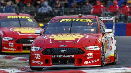 Scott McLaughlin has a tremendous feel for the car, says Dick Johnson. Picture: AAP