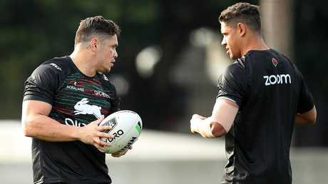 Roberts and Gagai will have to work together. Image: Phil Hillyard