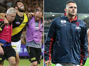 AFL  injury ladder: How hard your club has been hit?