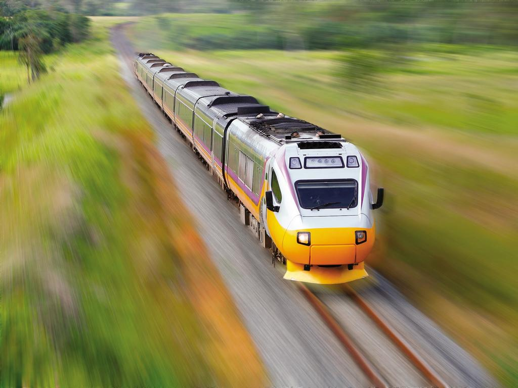 The fast rail routes would link with the majority of likely Olympic venues across the region.