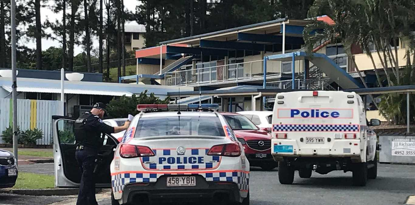 Police are on the scene at Fitzgerald State School because of a lockdown.