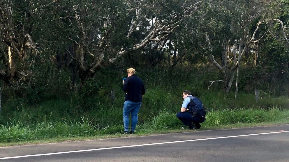 Police searching for any clues on the disappearance of missing backpacker Theo Hayez.