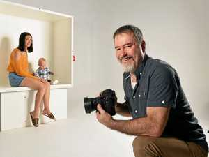 Photographer thinks outside the box with new studio