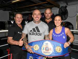 ROUND 5: Gympie boxer trades blows in tense final minutes of title fight