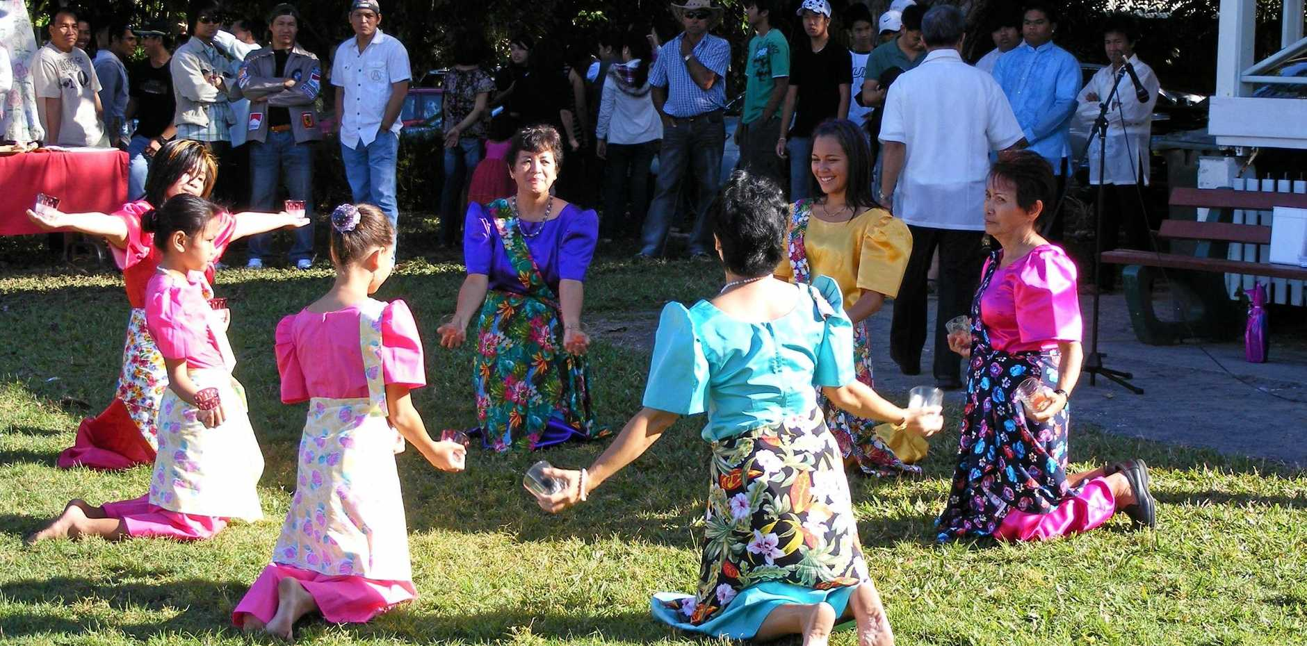 SPECIAL DAY: Traditional Filipino dances will be performed at a community event in Mackay to celebrate the 122nd anniversary of Philippine independence.