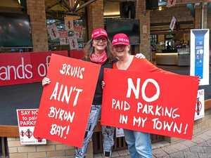 Bruns keeps up anti-paid parking push