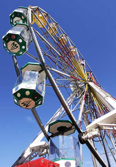 Ferris Wheel at the Rockhampton Show.   Photo Chris Ison / The Morning Bulletin   ROK070611cshow11