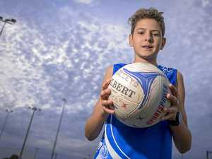Gladstone teen hopes to start a new netball trend