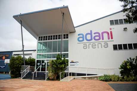 The renamed Adani Arena.