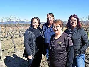 Women leading the way at wine estate