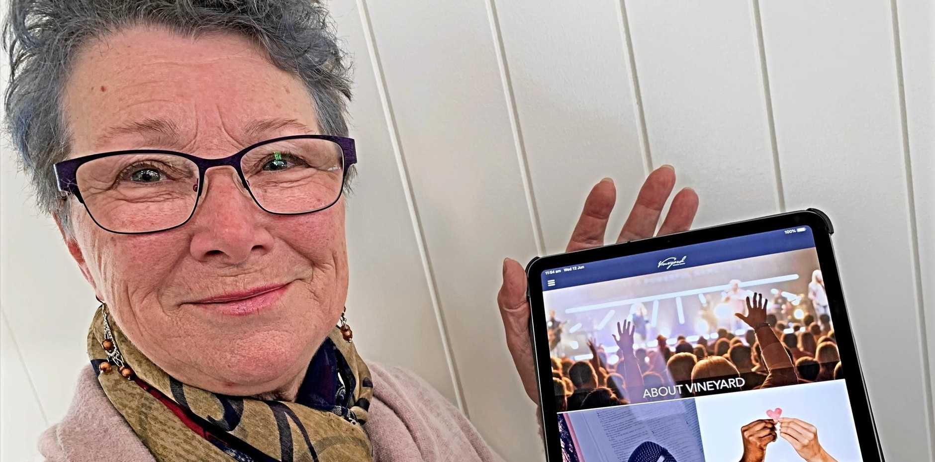 ENTERING A NEW AGE: Vineyard Christian Church are embracing technology with the creation of their own app.