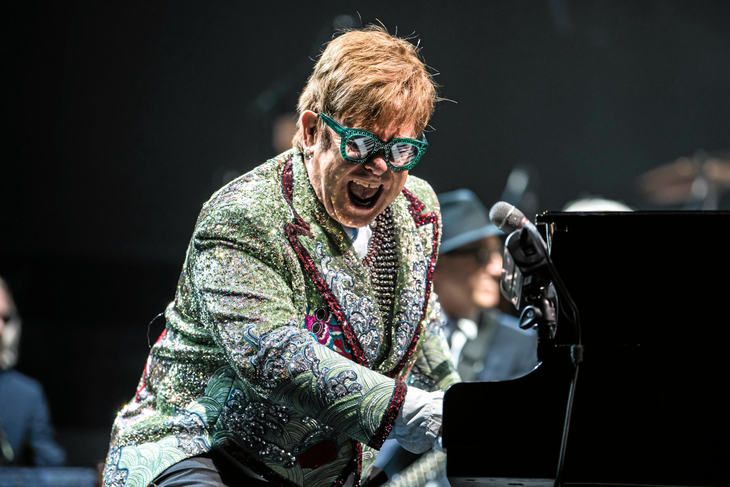 Chugg Entertainment chairman Michael Chugg said Sir Elton John liked playing at interesting places he hadn't been before.