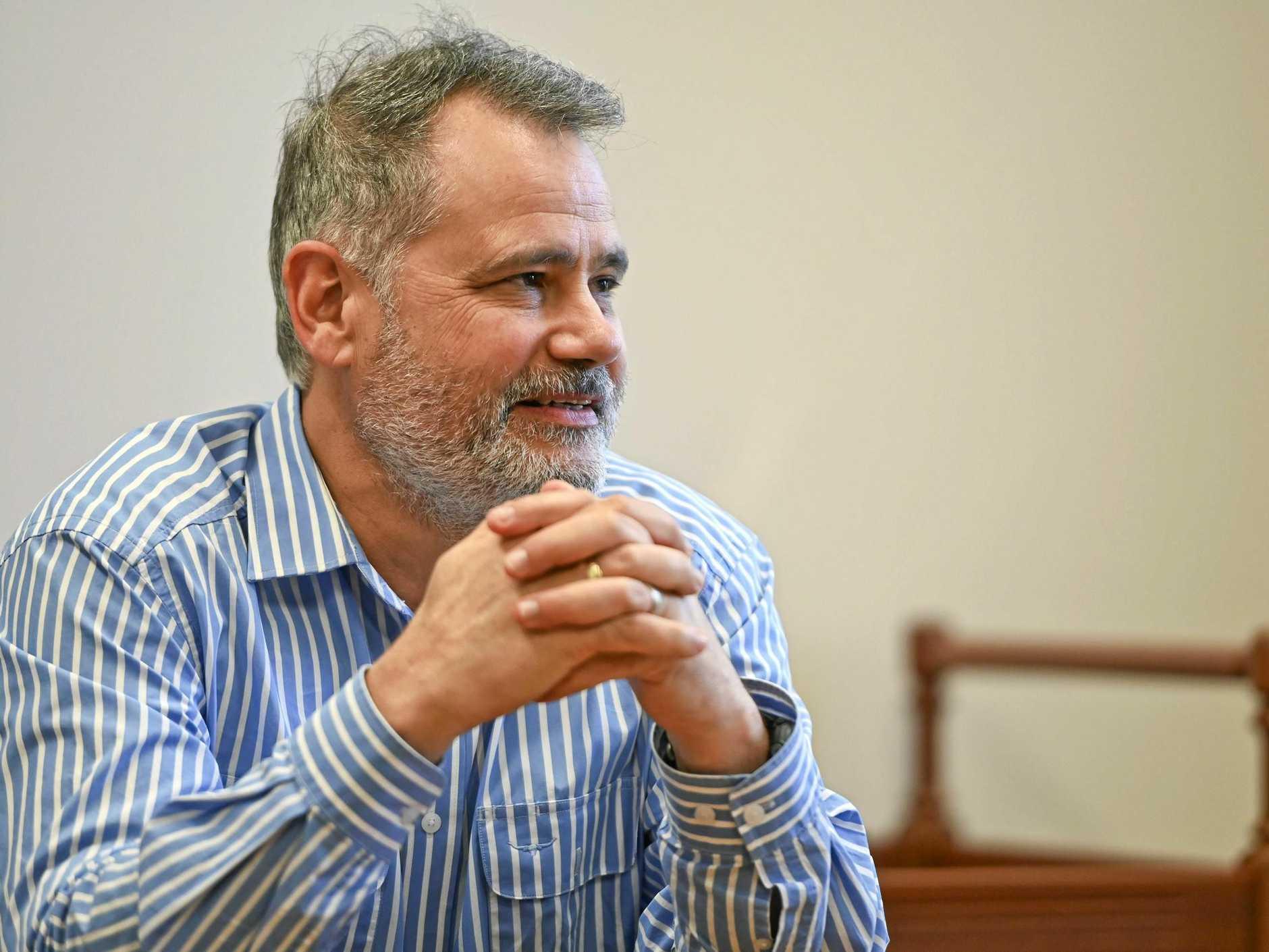 Ipswich City Council interim administrator Greg Chemello.