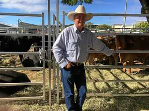 Graeme McCamley donates two steers at historic cattle sale