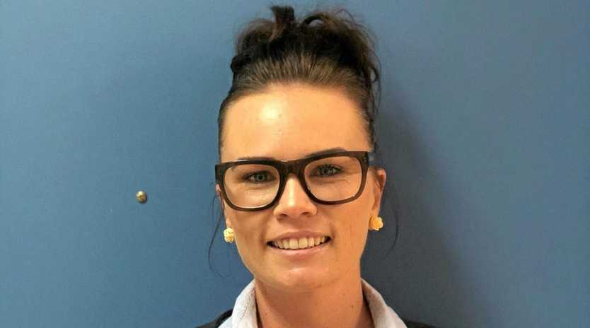 BRIGHT FUTURE: Nurse Amelia Simpkins is an emerging leader in her field.