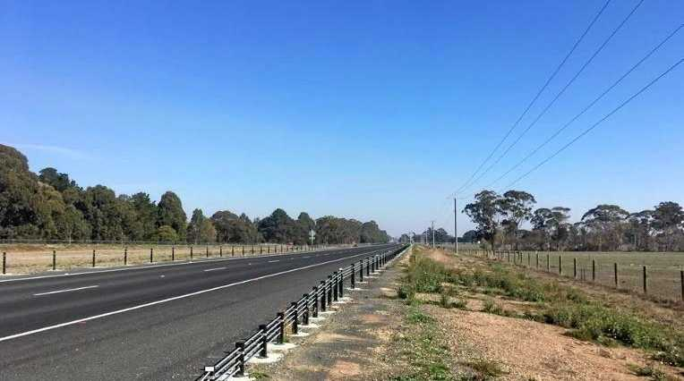 BARRIER BAN: Local MP Tim Bull has successfully lobbied to have plans for 25km of barriers along this stretch of highway scrapped.
