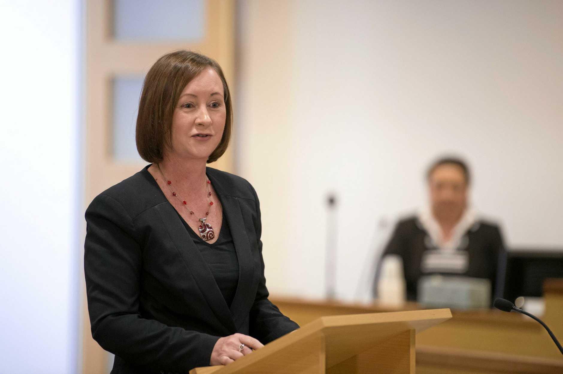 Attorney General Yvette D'Ath.