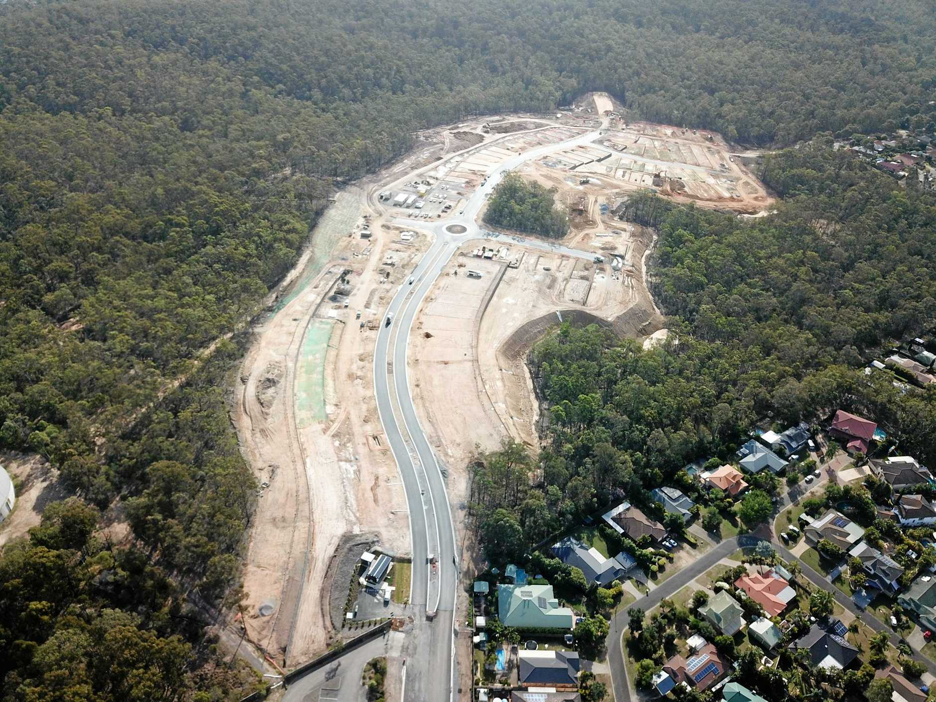 CONSTRUCTION STARTS: Work is set to begin on the first homes in the Kalina Springfield estate.