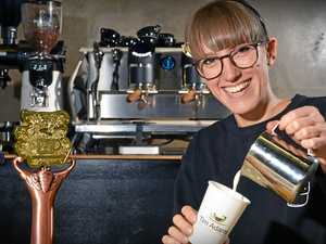 Barista achieves ultimate goal at international competition