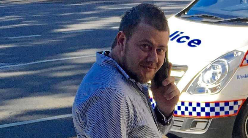$32K HIT: Dean Leatherby banged his Commodore into a Safe City Camera pole and scored a big damages bill.