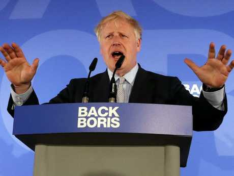 Boris Johnson is considered the frontrunner to become Britain's next prime minister. Picture: AP