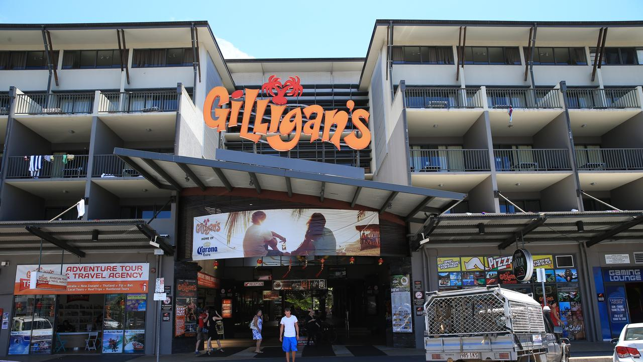 A man is suing Gilligan's after falling off the stage and breaking his hip. PICTURE: JUSTIN BRIERTY