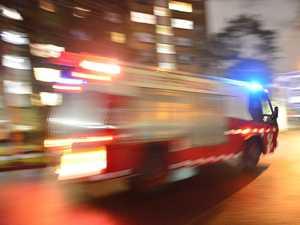VIDEO: Fire crews battle blaze near Leichhardt, Wulkuraka