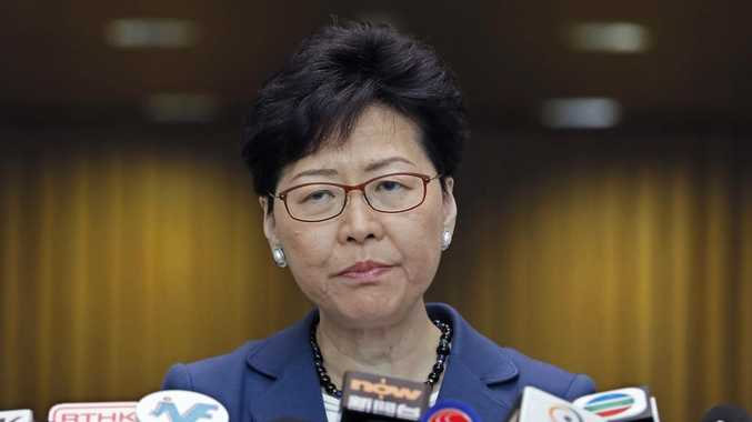 Lam says talk is 'way out' for Hong Kong
