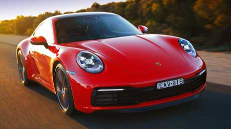 The Porsche 911 is at home on the track and the road.