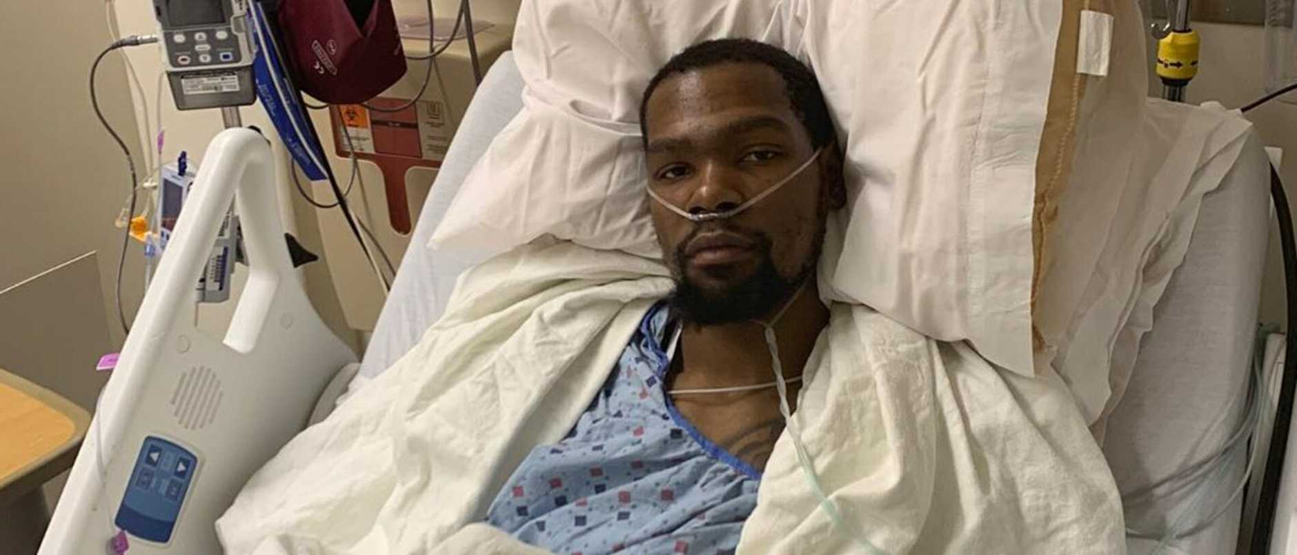 Kevin Durant underwent surgery after injury his achilles in Game 5.